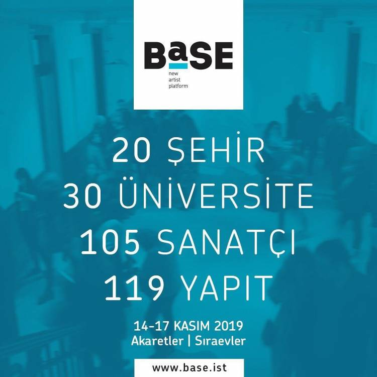 STMF Öğrencilerinin eserleri BASE İstanbul'da