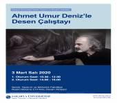 Ahmet Umur Deniz'le Desen Çalıştayı